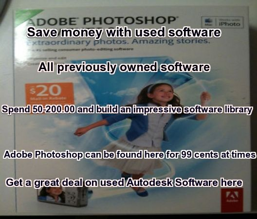 save money on name brand software